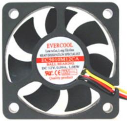 Evercool Fan 80x80x25 - 12 V
