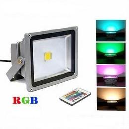RGB LED ПРОЖЕКТОР 10W + Дистанционно Управление