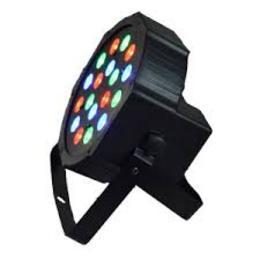 LED FLAT PAR 19 X 3 W
