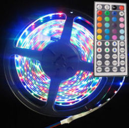 5M 8W 150x5050 SMD RGB Light LED Strip Lamp (DC 12V)