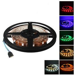 5M 5W 300x3528 SMD Color Light Flexible LED Strip Lamp (DC 12V)