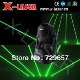 Kaleidoscope Green Moving Head Disco Laser Lights