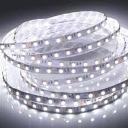 5M 10W 600x3528 SMD  White Light Flexible LED Strip Lamp (DC 12V)