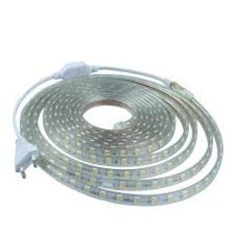 5M 10W 300x5050 SMD White Light Flexible LED Strip Lamp (AC 220V)