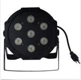 7x10W LED FLAT PAR RGBW 4in1 LED
