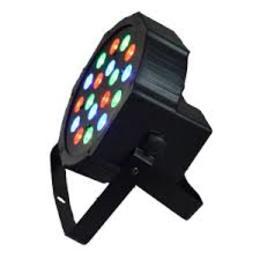 LED FLAT PAR 18 X 3 W
