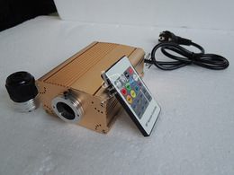 RGB fibro-optic controler 16 W - with audio mode