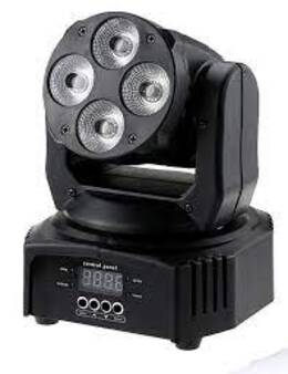 Led Wash Moving Head 4 x 12 W 6 in 1