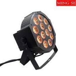 12x6W led Par lights RGBWA UV 6in1