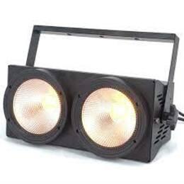 LED BLINDER 2 x 100 W COB LED WARM WHITE